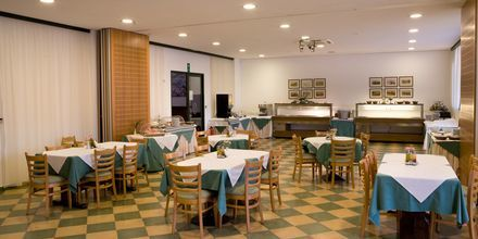Restaurant på hotel Kambos Village G D'S Hotels på Kreta, Grækenland.