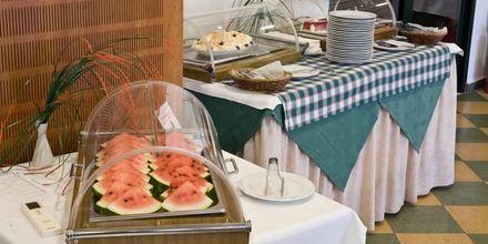 Buffetrestaurant på hotel Kambos Village G D'S Hotels på Kreta, Grækenland.