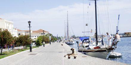 Havnen i Preveza i Grækenland