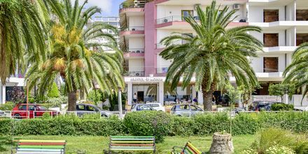 Hotel Kaonia i Saranda, Albanien.