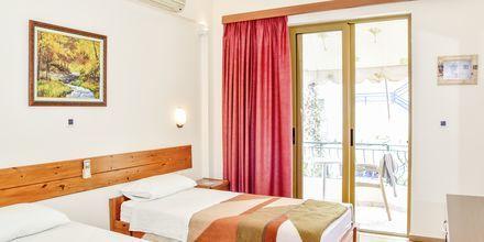 Dobbeltværelse på Hotel Kaonia i Saranda, Albanien.