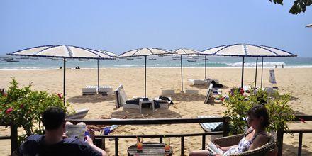 Morabeza Beach Club i Santa Maria ligger lige ved stranden.