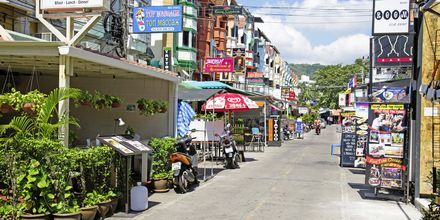Karon Beach på Phuket, Thailand.