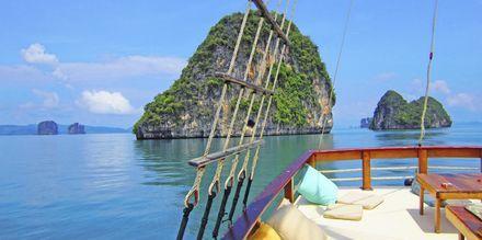 Tag med på bådudflugt med båden Champagne