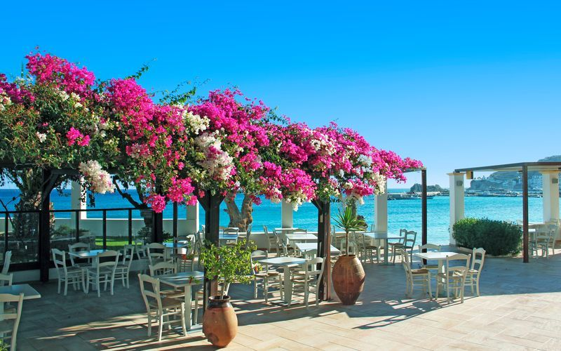 Electra Beach på Karpathos, Grækenland.