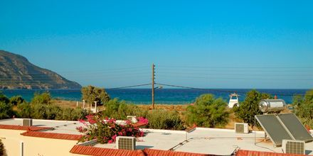 Udsigt fra hotel Karpathos Village, Grækenland.