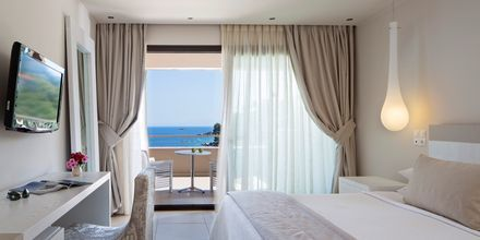 Deluxe-værelser på Hotel Kassandra Bay på Skiathos, Grækenland.