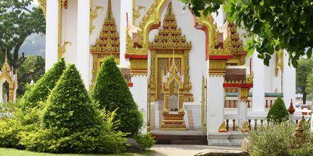 Wat Chalong er et af Phukets vigtigste buddhistiske templer