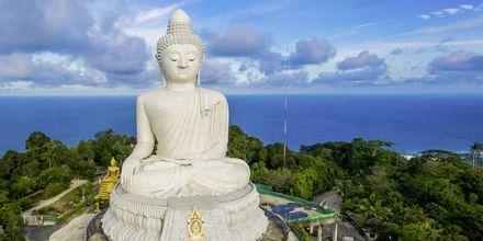 Big Buddha er et velkendt landemærke i Phuket med en skøn udsigt.
