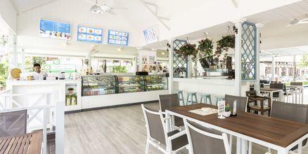 Restaurant SeaSide på Katathani Phuket Beach Resort & spa på Kata Noi Beach, Phuket