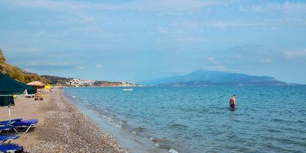 Stranden ved Hotel Katerina på Samos, Grækenland.