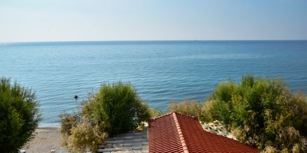 Udsigt fra Hotel Katerina på Samos, Grækenland.