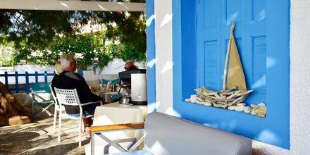 Strandbaren på Hotel Katerina på Samos, Grækenland.