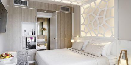 Dobbeltværelse på Hotel KB Ammos på Skiathos, Grækenland.