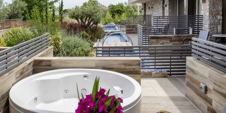 Dobbeltværelse med jacuzzi på Hotel KB Ammos på Skiathos, Grækenland.