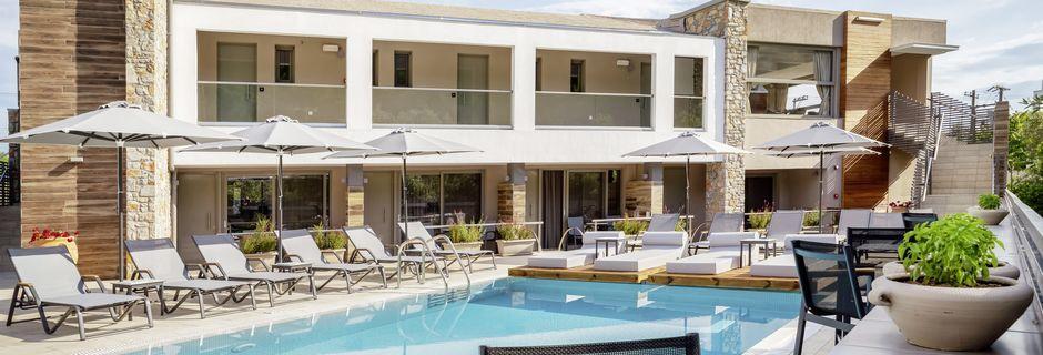 Poolen på Hotel KB Ammos på Skiathos, Grækenland.