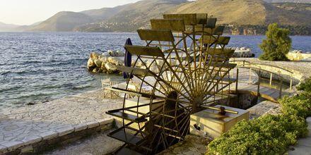 Vandhjul på Kefalonia, Grækenland.