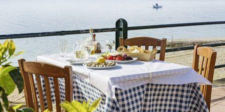 I Fiskardo er der masser af gode restauranter.