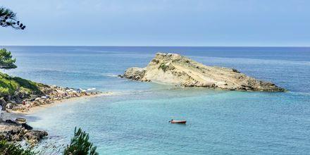Lassi på Kefalonia, kendt for sine skønne strande.