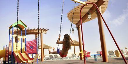 Legeplads på Hotel Khalidiya Palace Rayhaan i Abu Dhabi, De Forenede Arabiske Emirater.