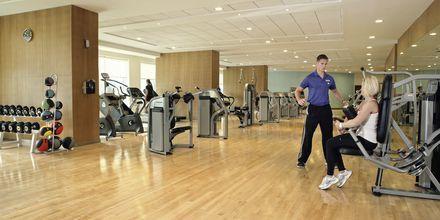 Fitness på Hotel Khalidiya Palace Rayhaan i Abu Dhabi, De Forenede Arabiske Emirater.