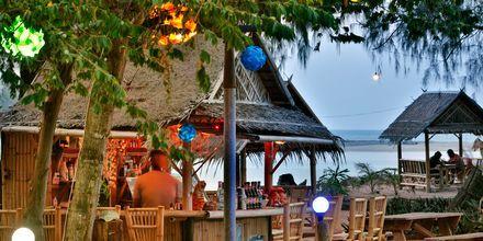 Strandrestaurant i Khao Lak, Thailand