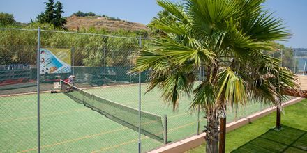 Tennis på Kiani Beach Resort, Kalives, Kreta.