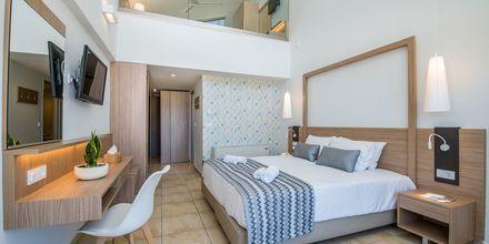 1-værelses lejlighed i etage på Kiani Beach Resort i Kalives, Kreta.