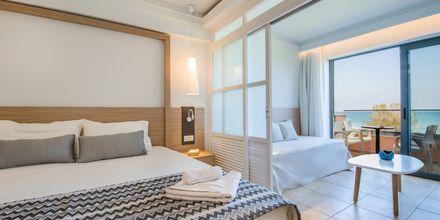 1-værelses lejlighed på Kiani Beach Resort i Kalives, Kreta.