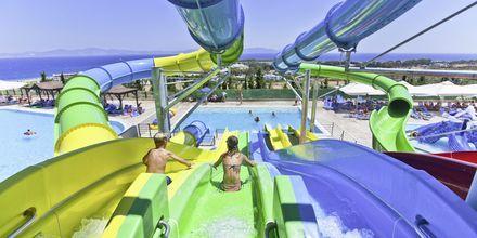 Poolområdet på hotel Kipriotis Aqualand på Kos, Grækenland