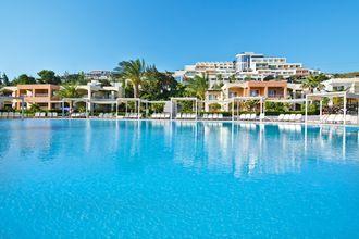 Poolen på Hotel Kipriotis Maris Suites på Kos, Grækenland.