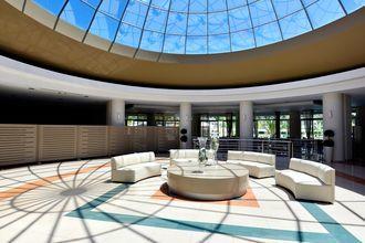 Lobby på Hotel Kipriotis Maris Suites i Psalidi på Kos, Grækenland.