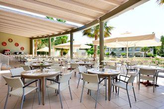 Restaurant på Hotel Kipriotis Maris Suites på Kos, Grækenland.
