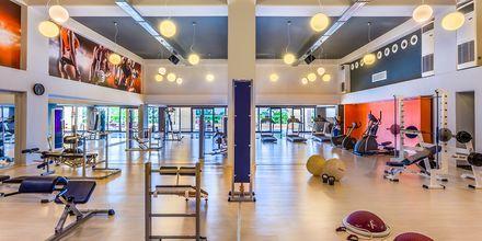 Fitnessrum på Hotel Kipriotis Maris Suites i Psalidi på Kos, Grækenland.