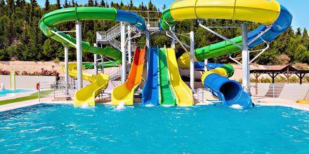Vandland (mod betaling) på hotel Kipriotis Panorama Aqualand.