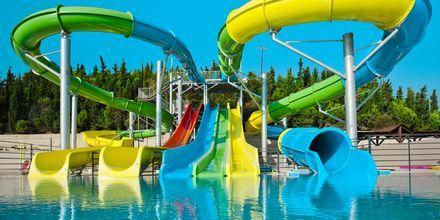 Nabohotellet Kipriotis Panorama Aqualand på Kos, som er mod betaling.