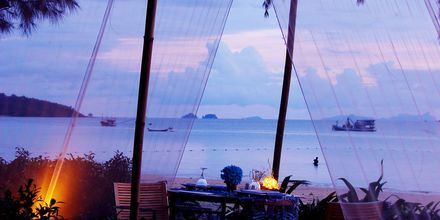 Strandrestauranten på hotellet Dusit Thani Krabi Beach.