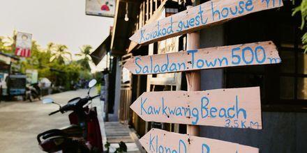 Ban Saladan på Koh Lanta, Thailand