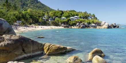 Strand på det sydlige Koh Samui