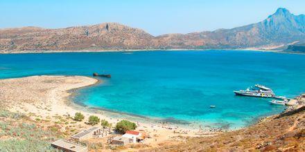 Udflugt til Gramvousa på Kreta, Grækenland.
