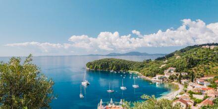 Nordlige Korfu, Grækenland.