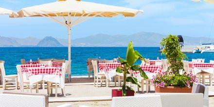 Restaurant i Kos by på Kos, Grækenland.