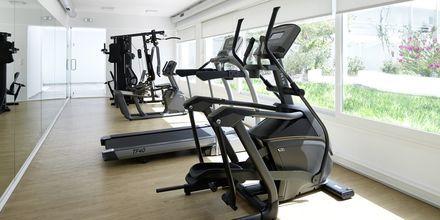 Fitness-faciliteter på Hotel Kouros Seasight i Pythagorion på Samos, Grækenland.