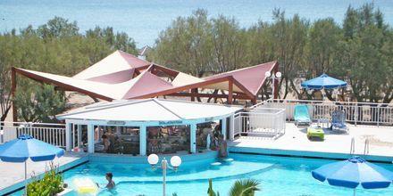 Pool på Hotel Kouros Seasight i Pythagorion på Samos, Grækenland.