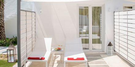 Superior-værelse på Hotel Kouros Seasight i Pythagorion på Samos, Grækenland.