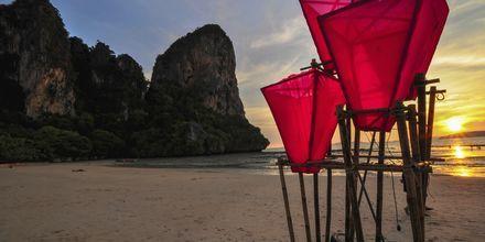 Railay Beach i Krabi, Thailand.