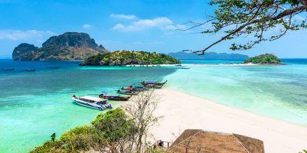 Chicken Island udenfor Krabi, Thailand.