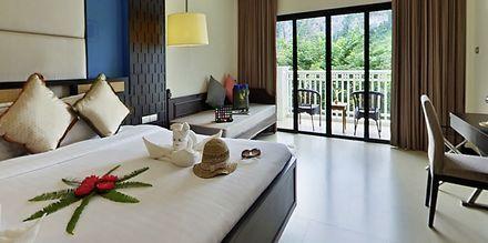Familie-værelse på Krabi Tipa Resort i Ao Nang i Thailand.