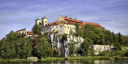 Bendiktiner-klosteret i byen Tyniec udenfor Krakow.