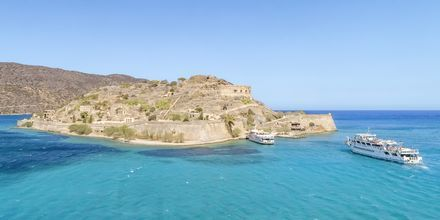 Oplev øen Spinalonga, der ligger lige uden for Kreta.